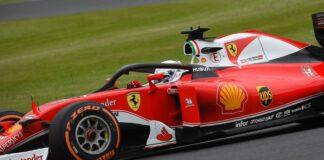 Vettel, Ferrari, halo
