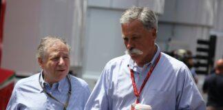 Chase Carey, Jean Todt, FIA, F1, versenyhelyszín