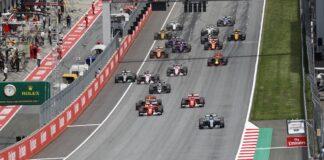 F1, Forma-1, mezőny, rajt