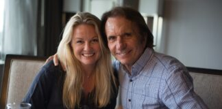 Ronnie Peterson lánya Nina Petterson és Emerson Fittipaldi