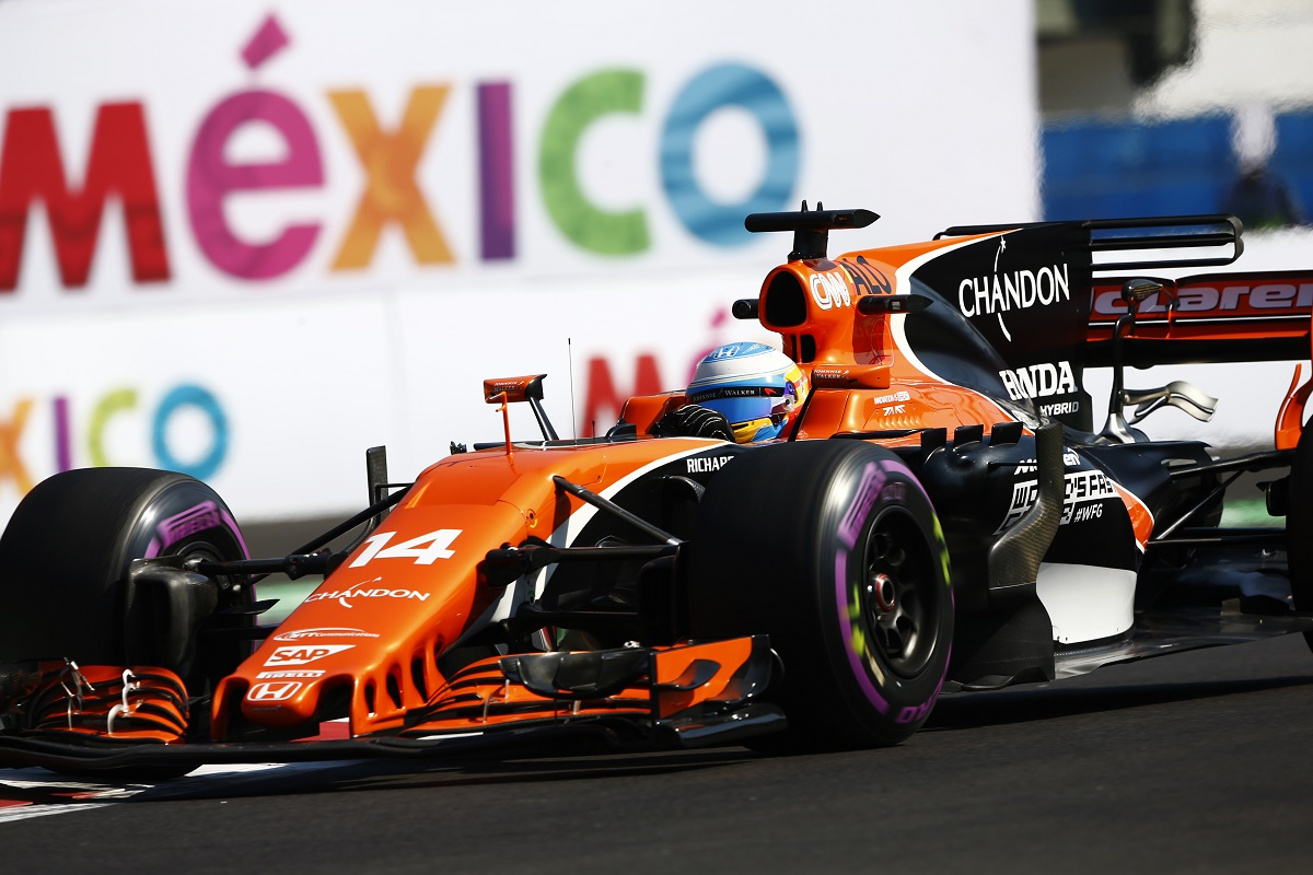 Alonso, McLaren, Mexico, büntetés