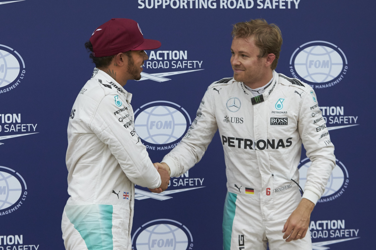 Rosberg, Hamilton