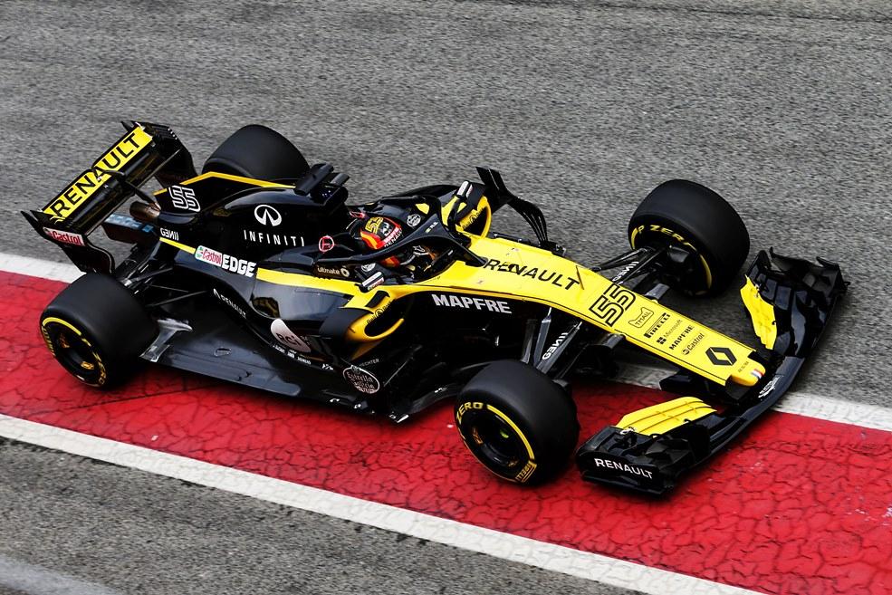 Renault, Sainz