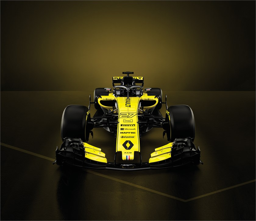2018 - Renault R.S.18, halo