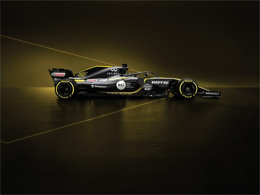 2018 - Renault R.S.18, legszebb F1-es autó