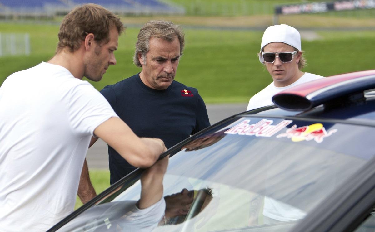 Alexander Wurz, Carlos Sainz, Kimi Raikkonen