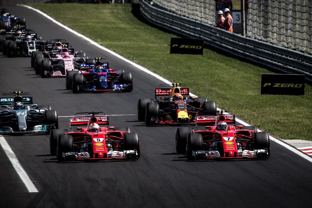 F1, Hungaroring, rajt