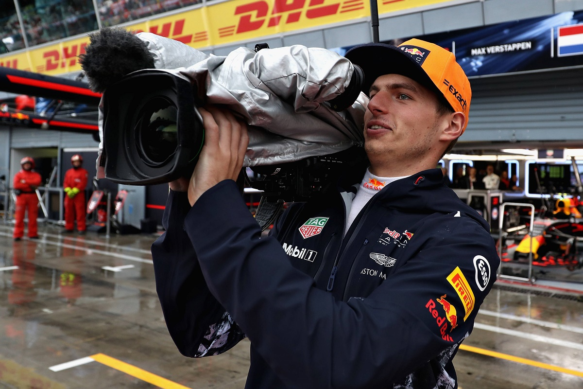 Max Verstappen camera, Netflix