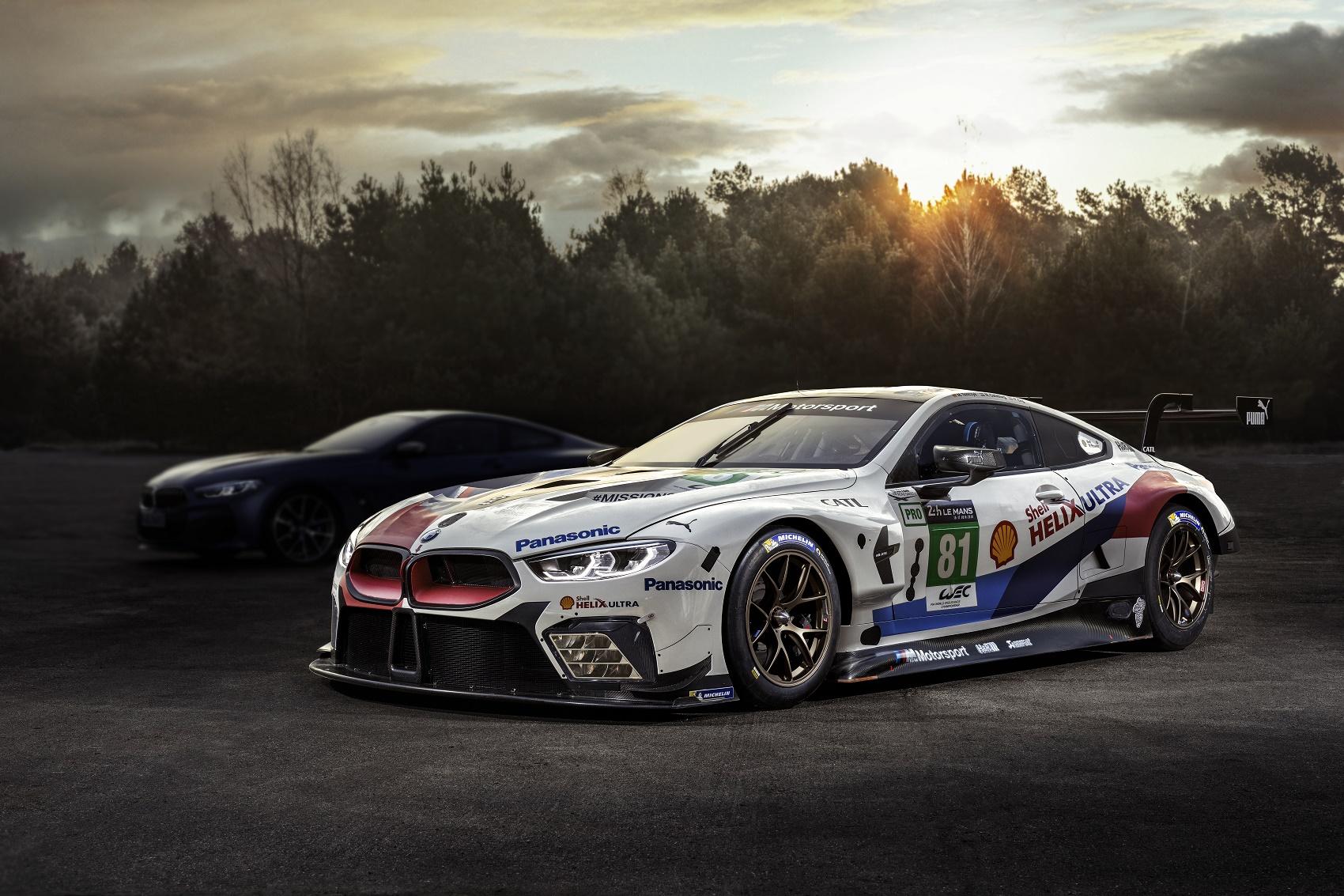 BMW 8 Le Mans