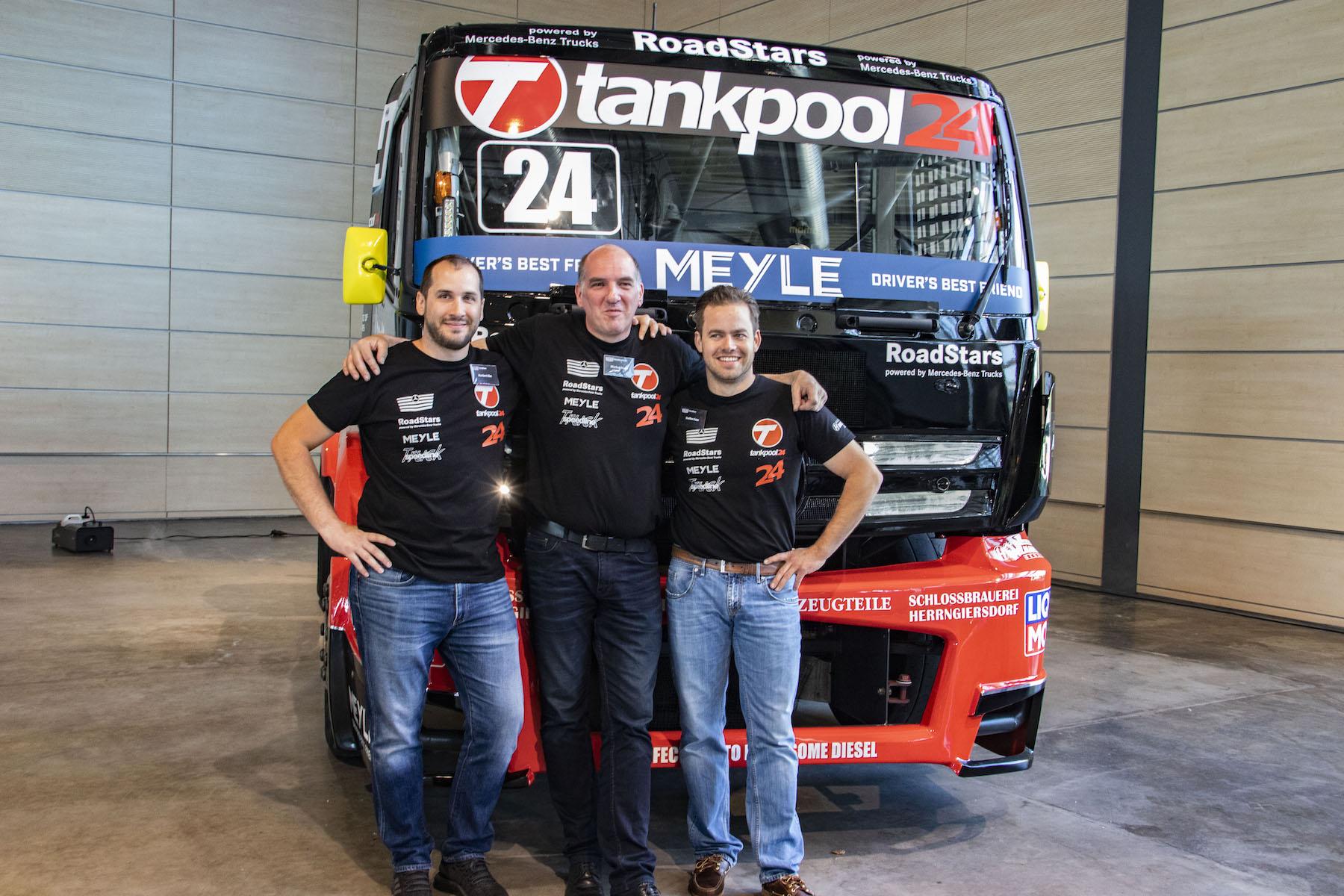 Kiss Norbi, Steffen Faas, Marcus Bauer, Tankpool24, Mercedes