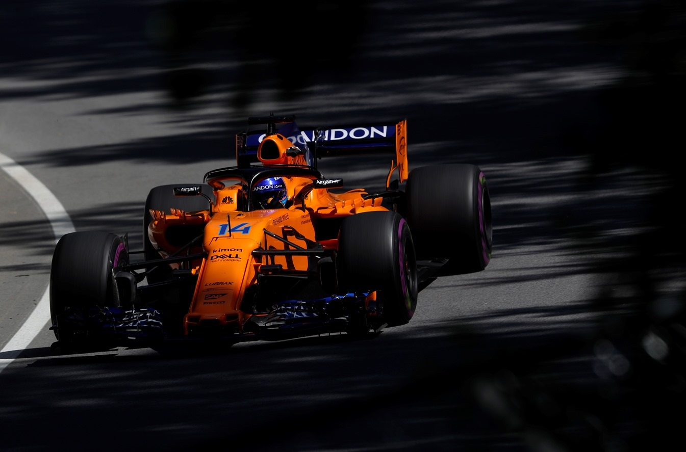 Alonso, McLaren, Kanada