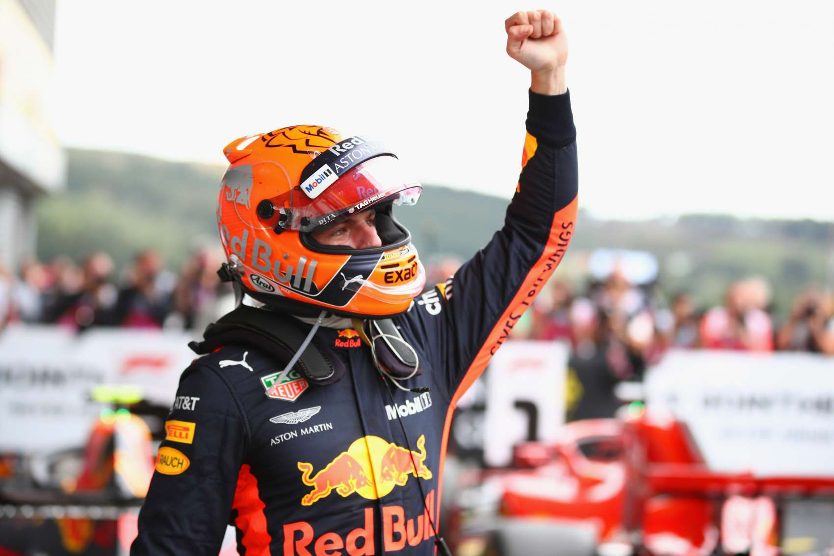 Max Verstappen 2018 Belgium