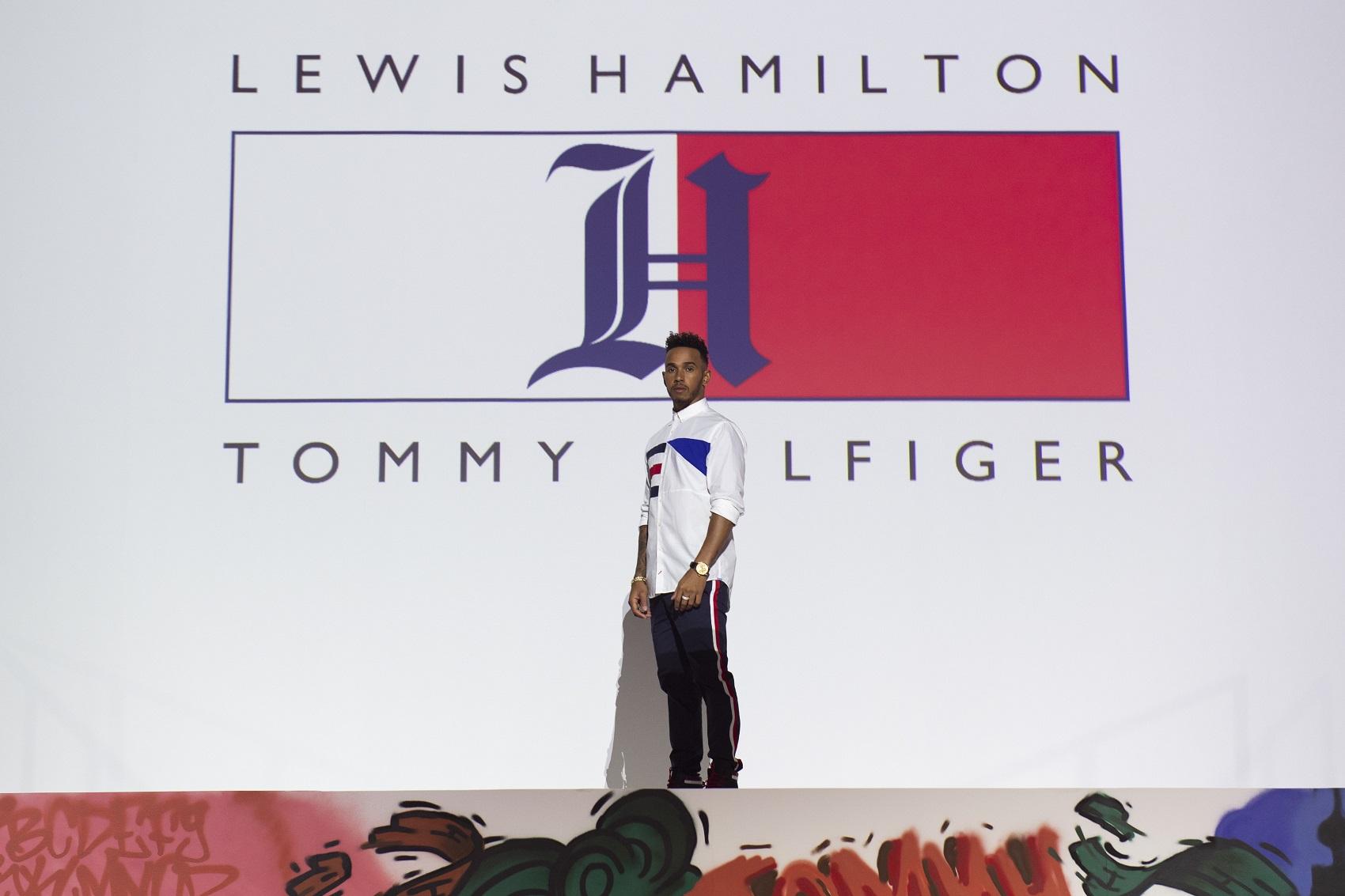 Lewis Hamilton Tommy Hilfiger, tommyxlewis