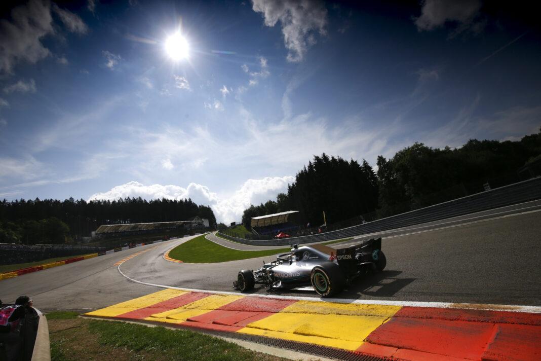 Lewis Hamilton, Belga Nagydíj