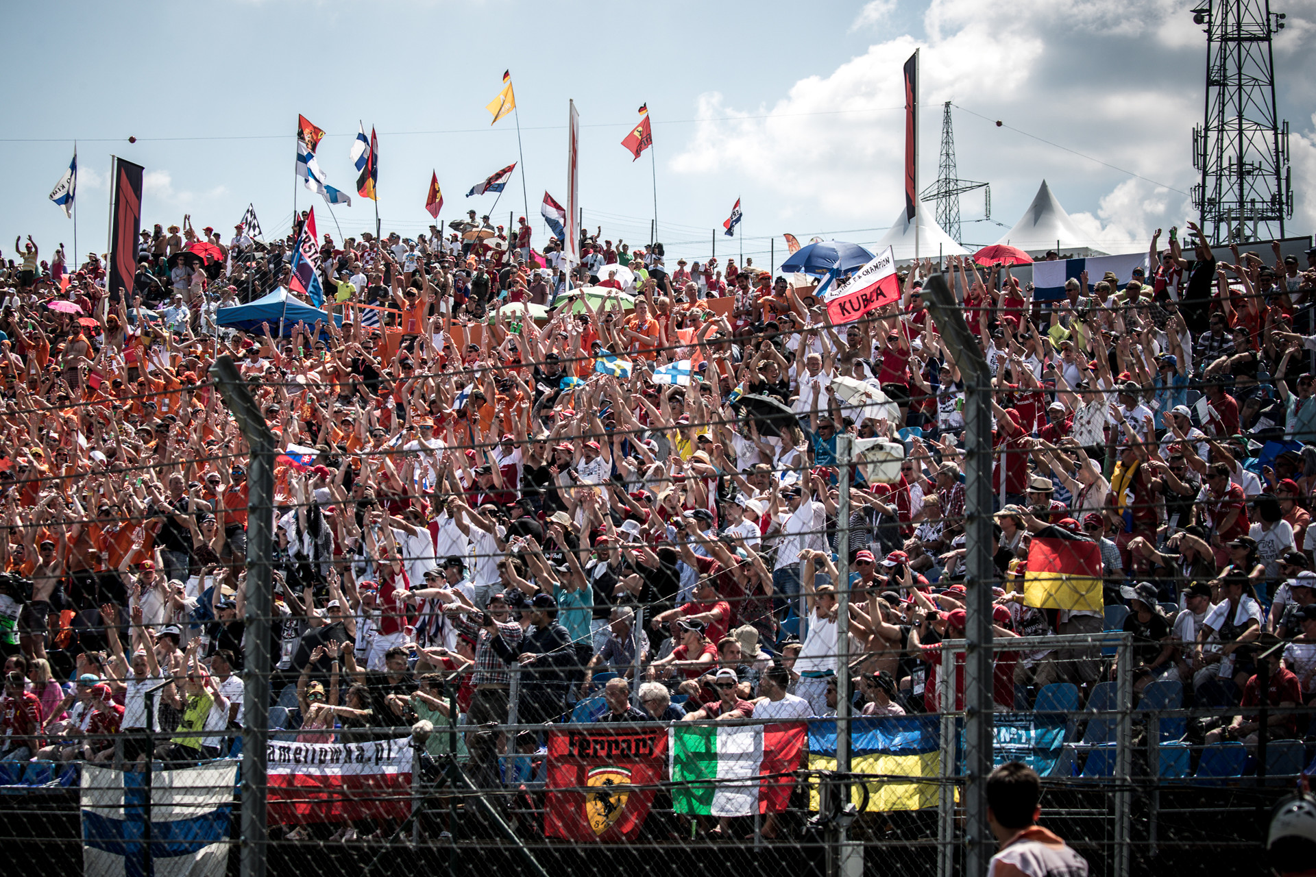 Magyar Nagydíj, fans, rajongók