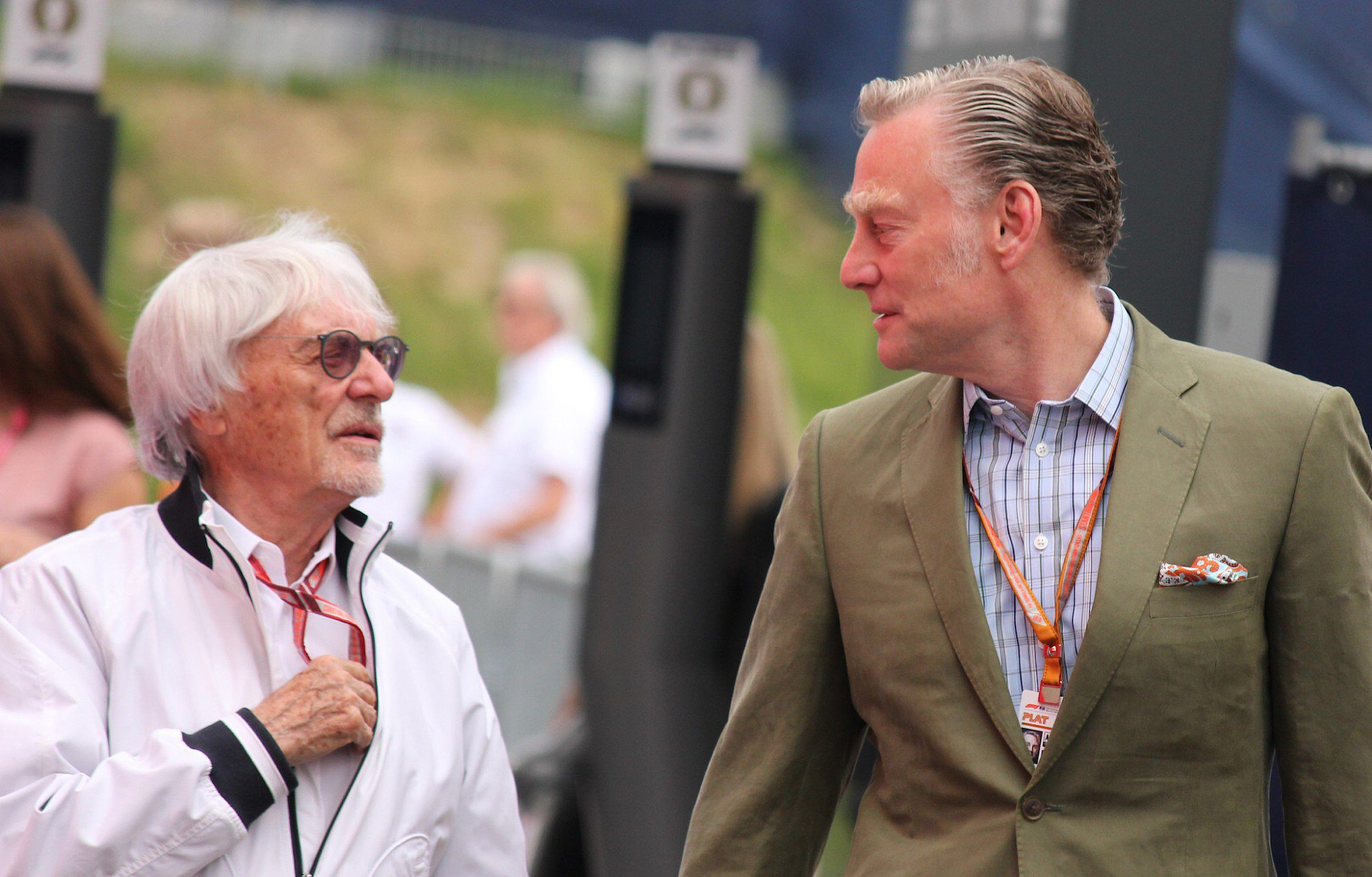Sean Bratches Bernie Ecclestone, liberty media, racingline.hu