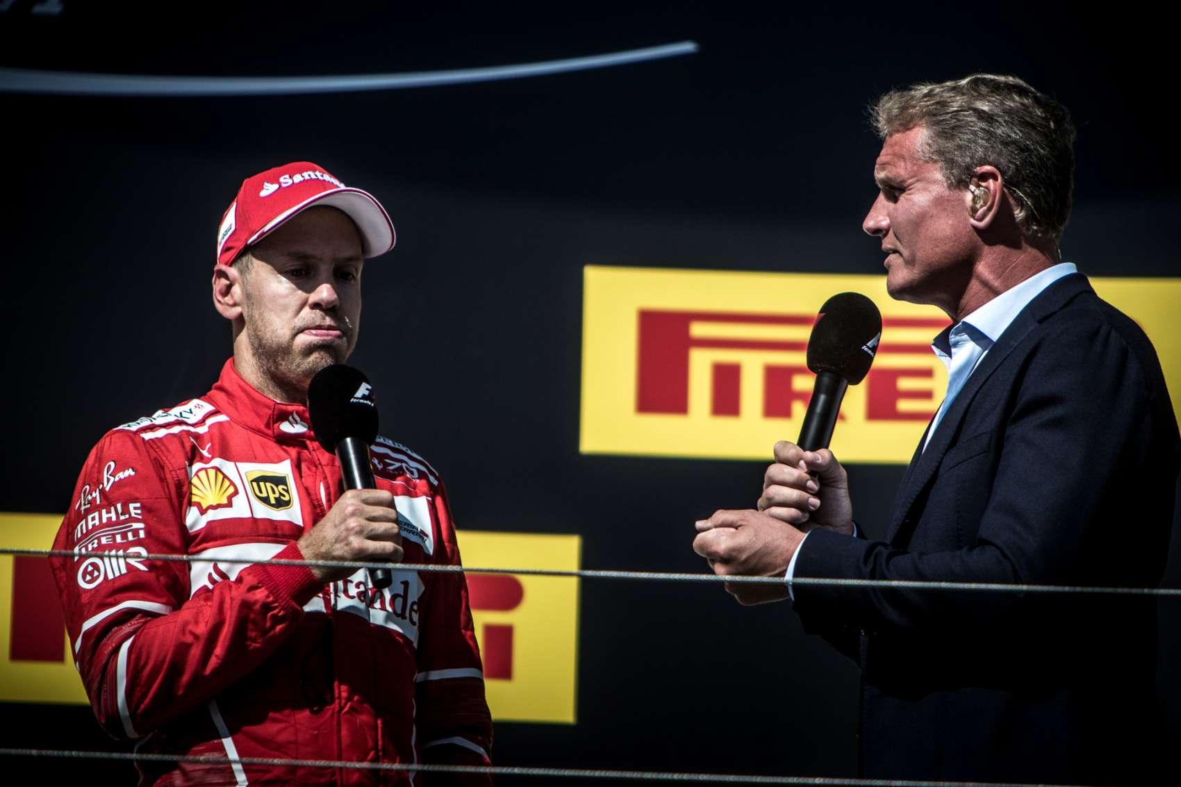 Coulthard, Vettel