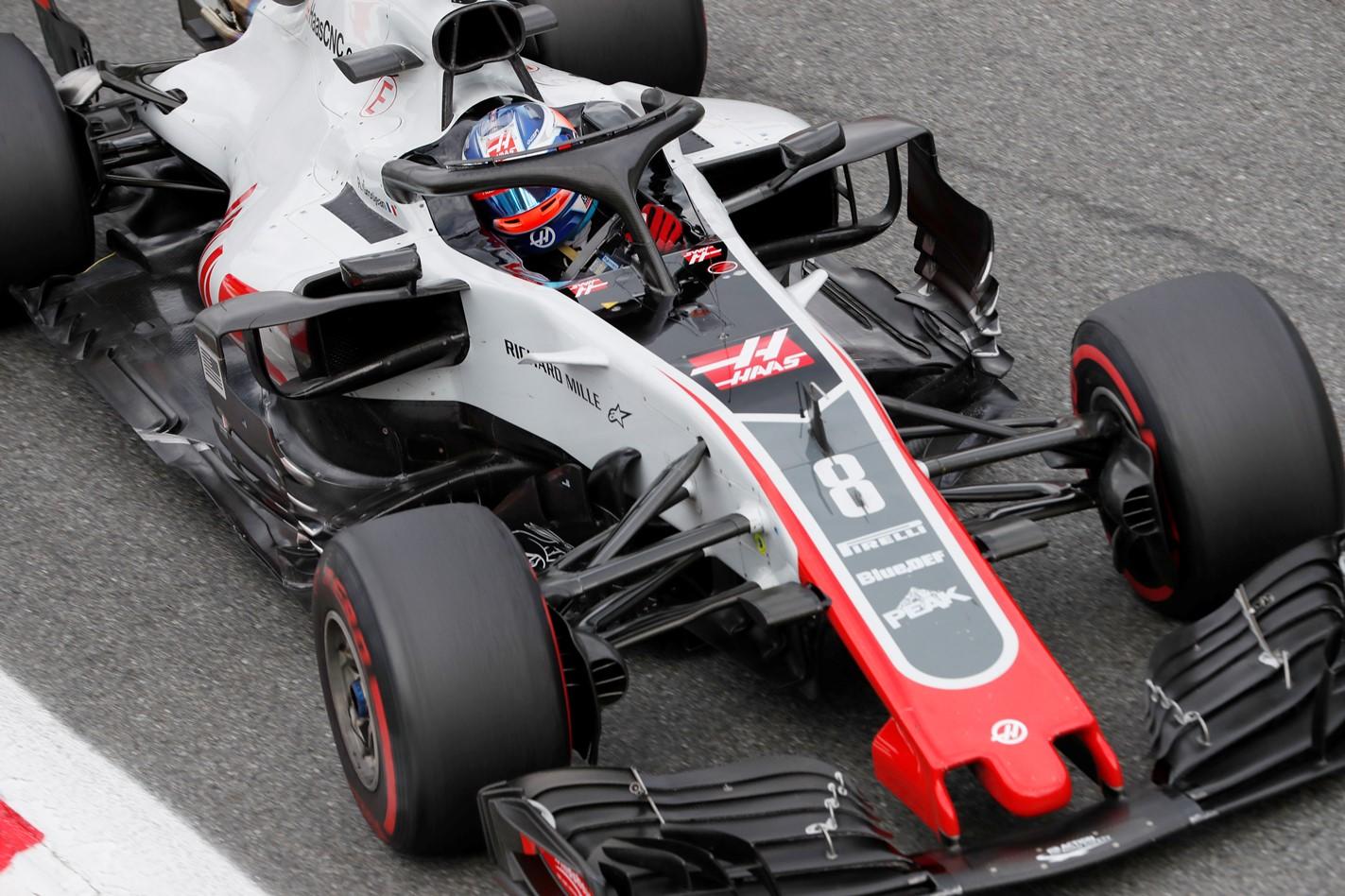 Haas, Grosjean