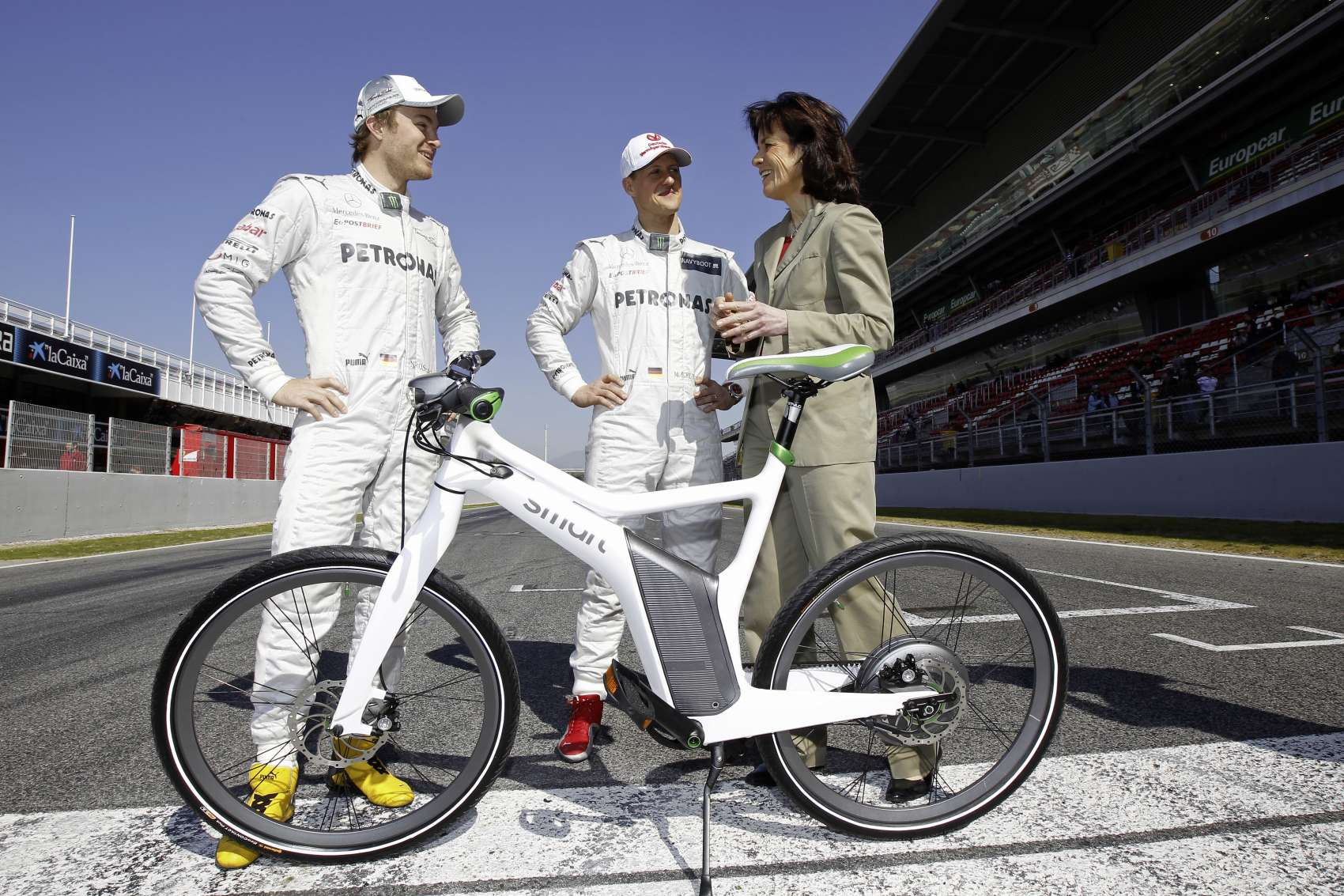 Annette Winkler, Nico Rosberg, Michael Schumacher, racingline, racingline.hu, racinglinehu