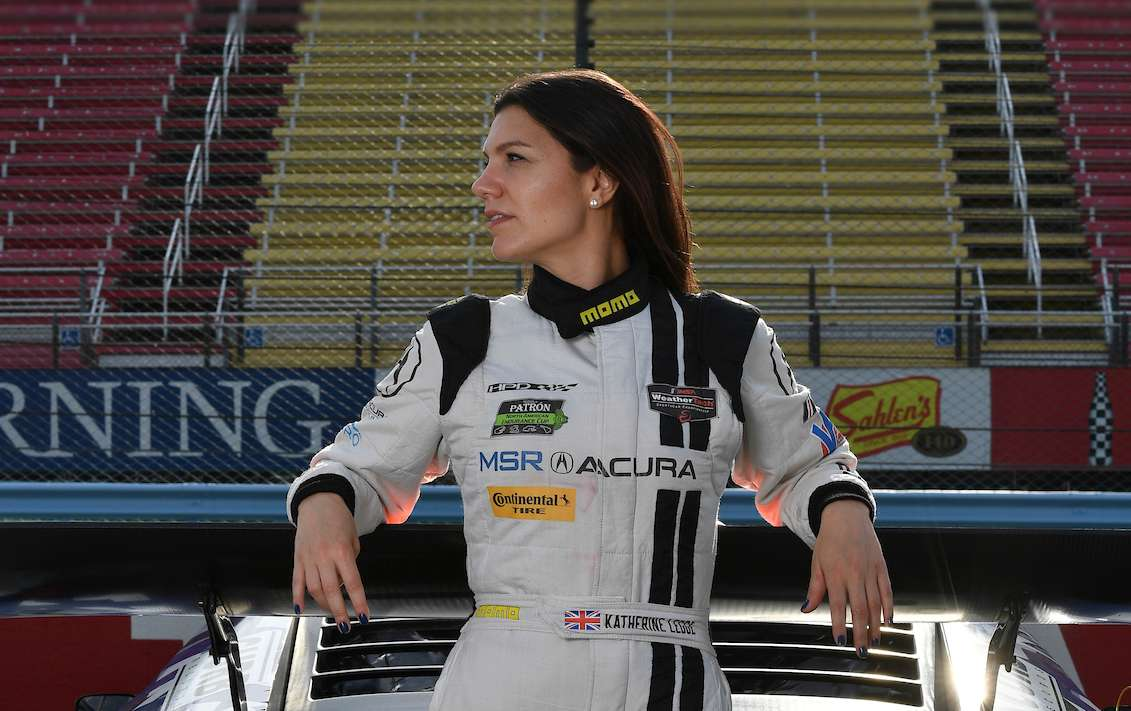 Katherine Legge, imsa, racingline, racinglinehu, racingline.hu