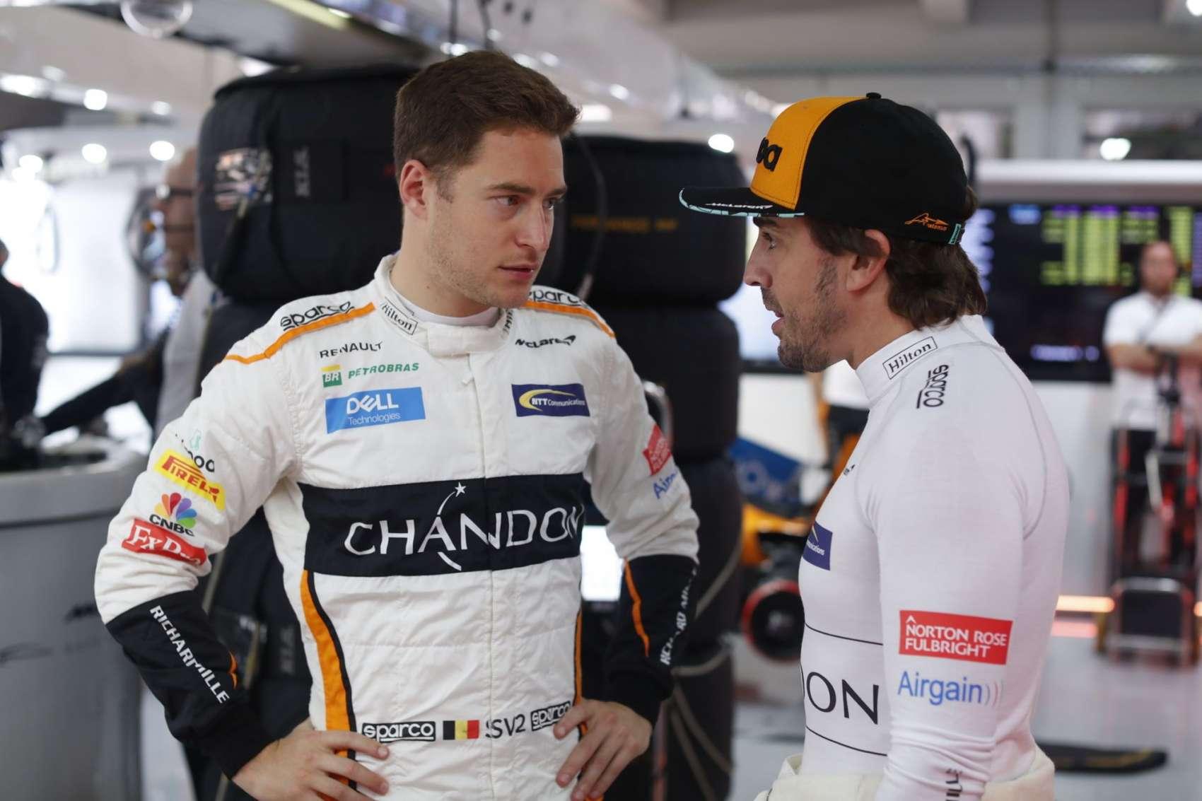 Vandoorne, Alonso, Racingline