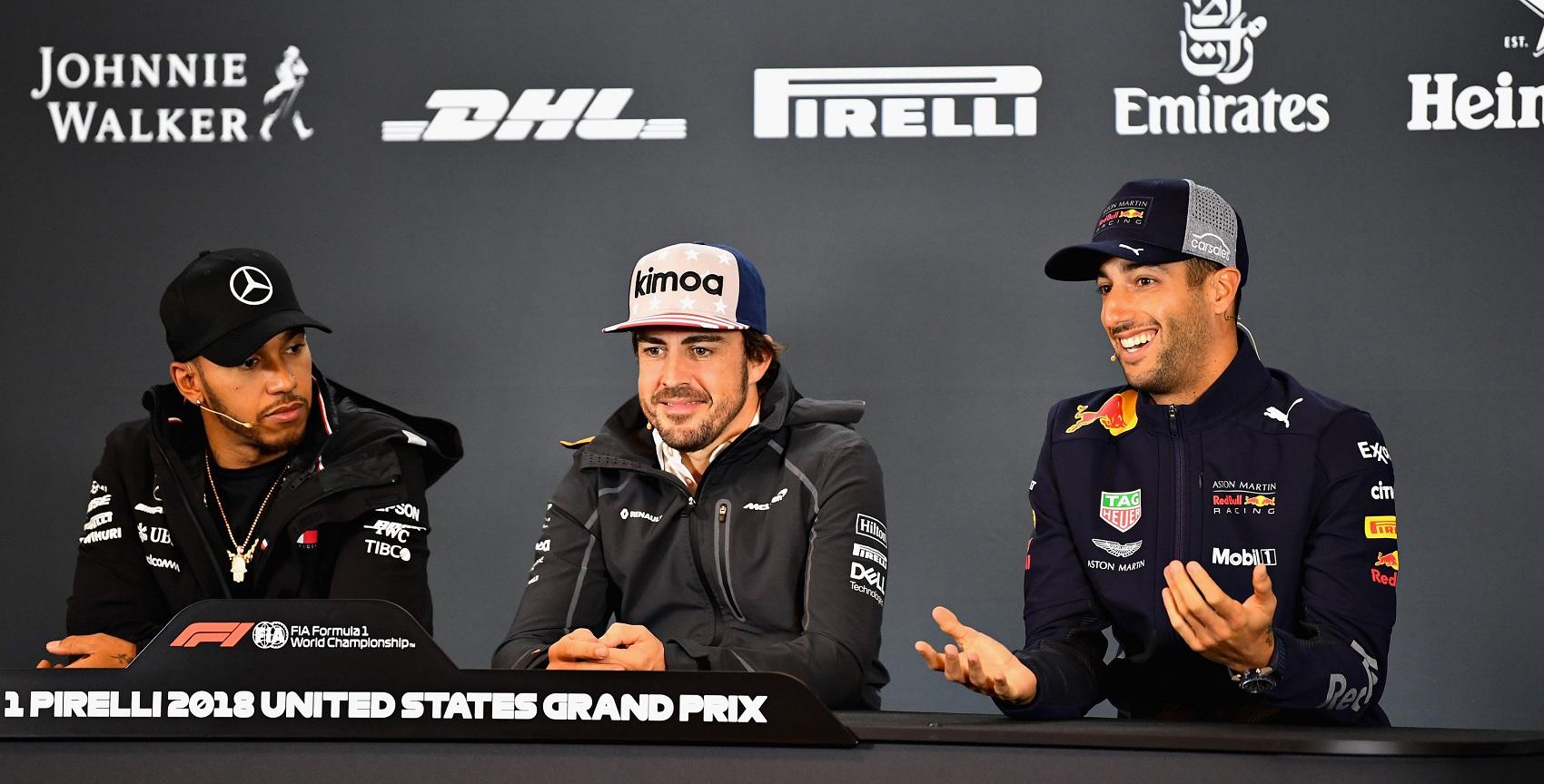 Lewis Hamilton, Fernando Alonso, Daniel Ricciardo, racingline, racinglinehu, racingline.hu