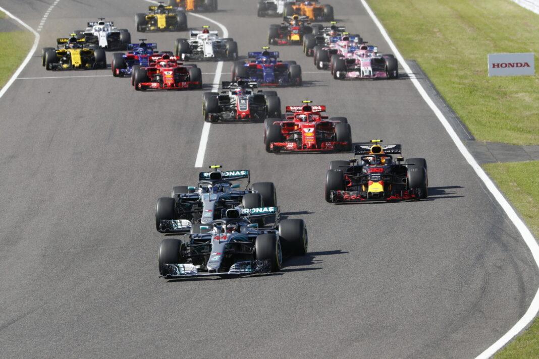 Japán, Szuzuka, rajt, racingline