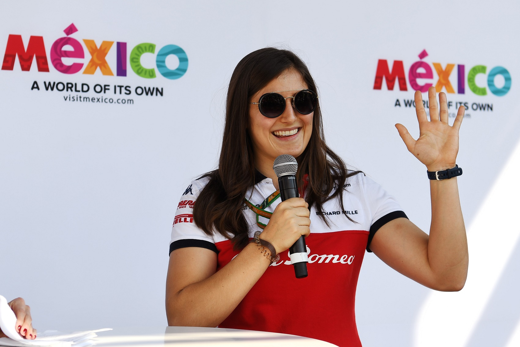 Tatiana Calderon, Racingline, racinglinehu, racingline.hu