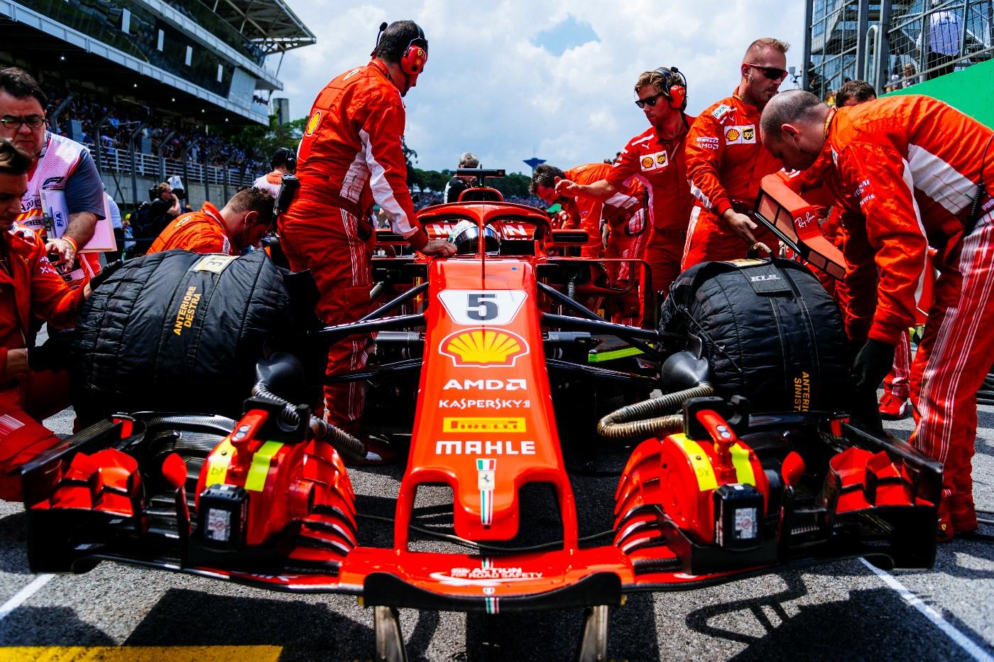 Vettel, Ferrari