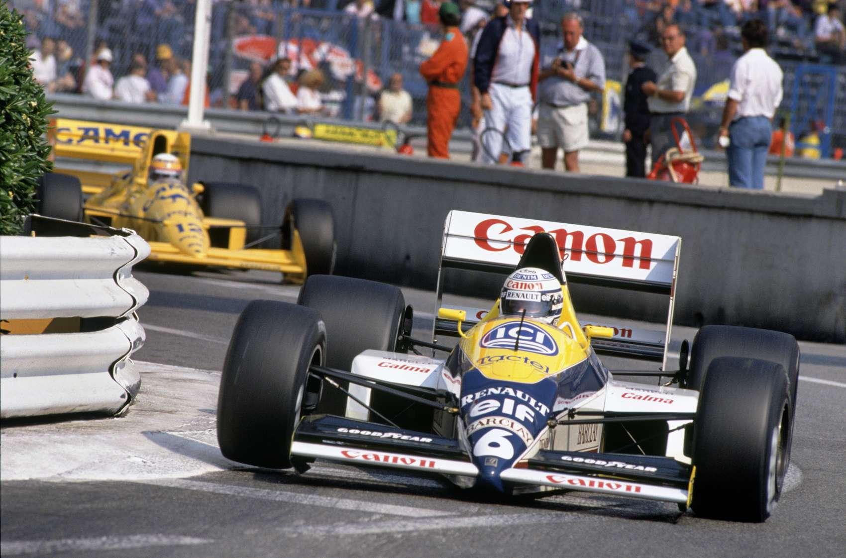Riccardo Patrese, Satoru Nakajima, lotus, williams, racingline.hu