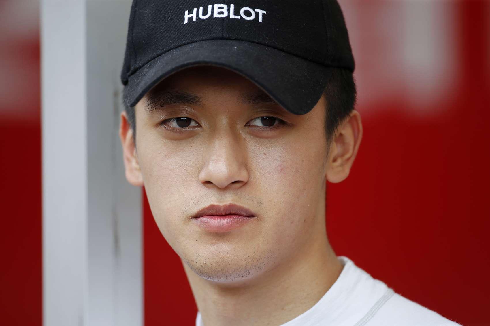 Guanyu Zhou, racingline.hu