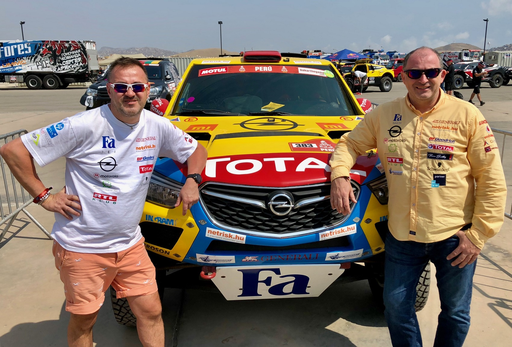Opel Dakar Team racingline, racinglinehu, racingline.hu