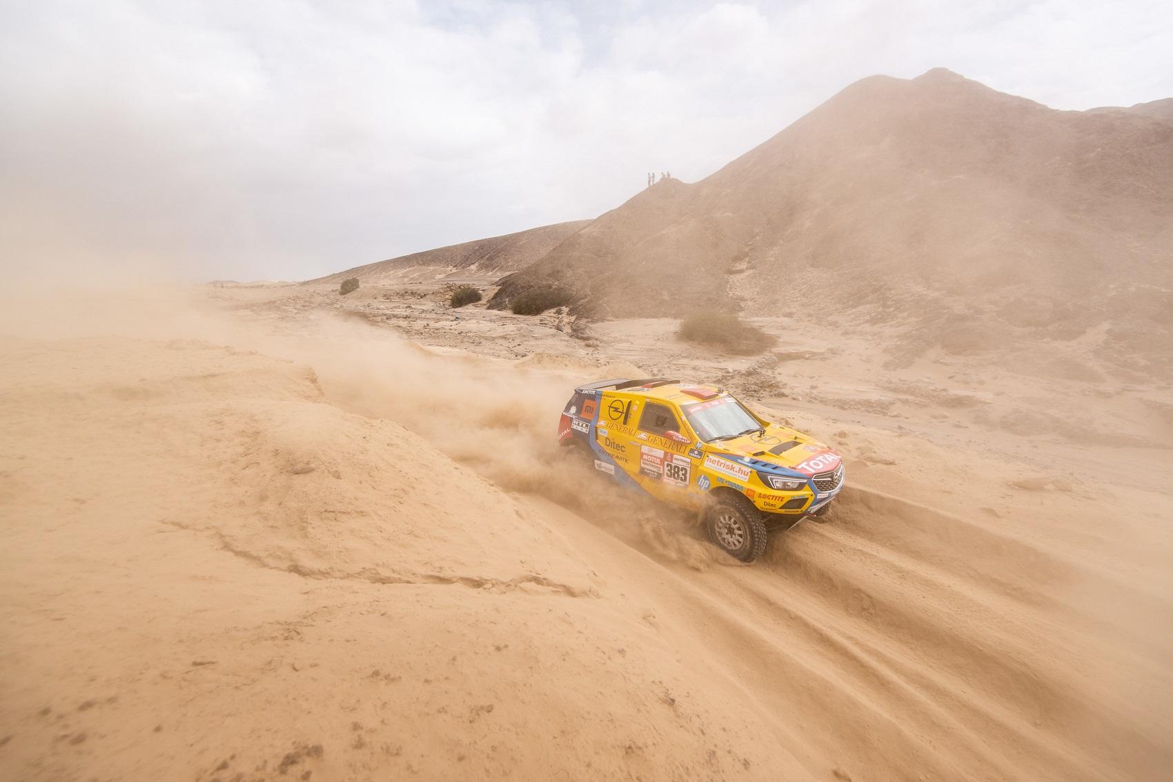 Opel Dakar Team, racingline.hu, racingline, racinglinehu