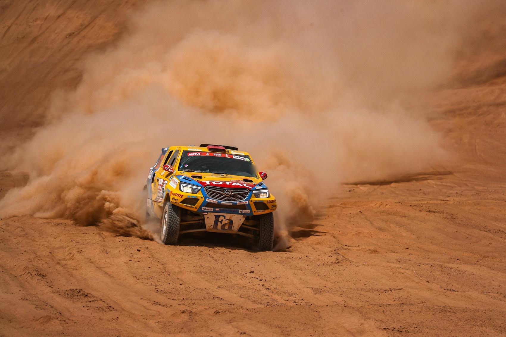 Opel Dakar Team, racingline, racinglinehu, racingline.hu