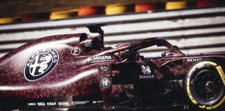 Alfa Romeo Racing F1 racingline. racinglinehu, racingline.hu