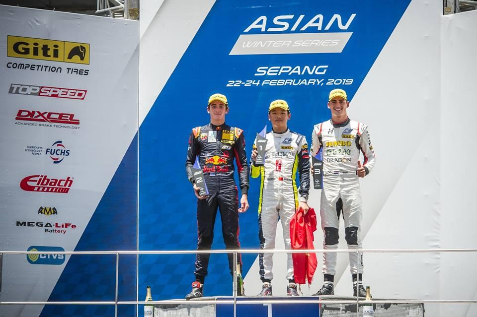 Asian F3 Witer Series racinglinehu, racingline, racingline.hu