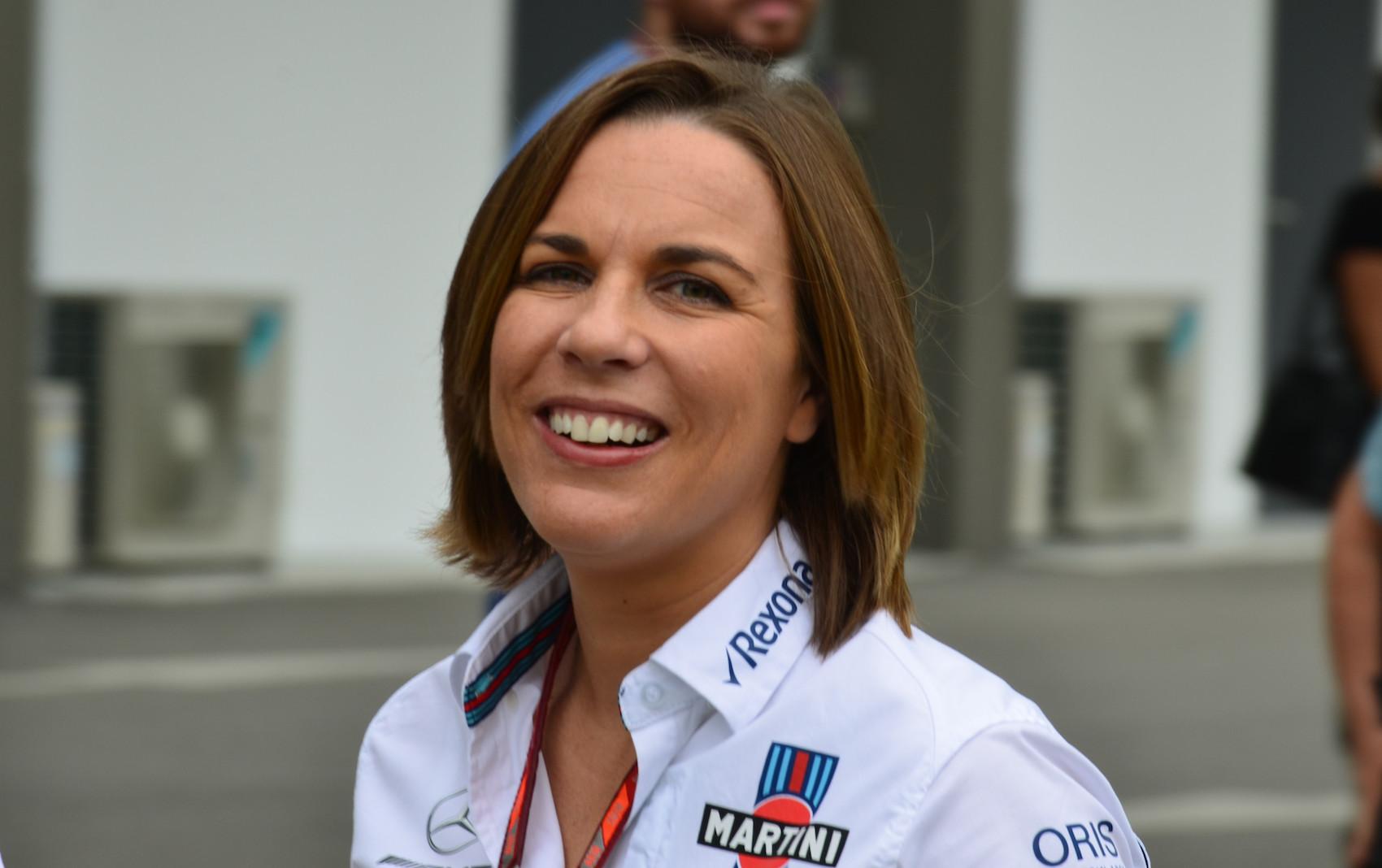 Claire Williams racingline. racinglinehu, racingline.hu