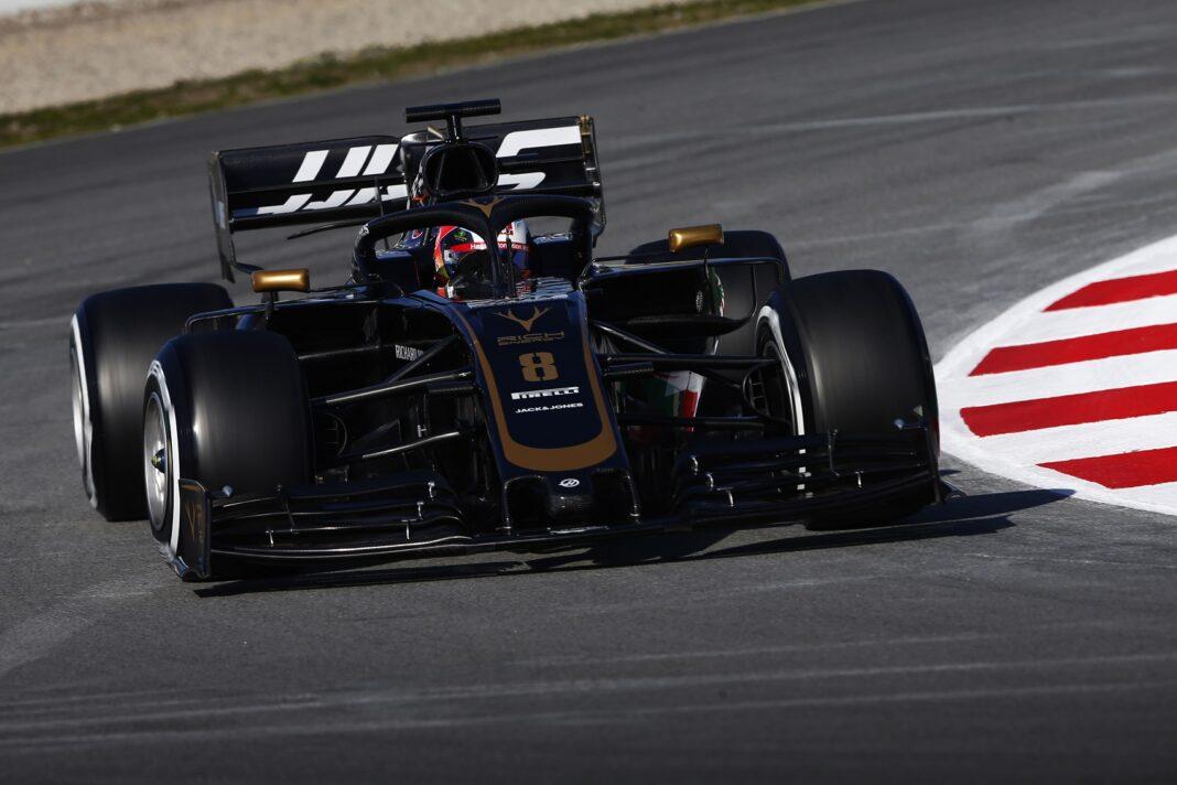 Haas Romain Grosjean racingline. racinglinehu, racingline.hu
