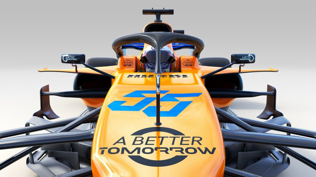 A Better Tomorrow, McLaren MCL34 racingline. racinglinehu, racingline.hu