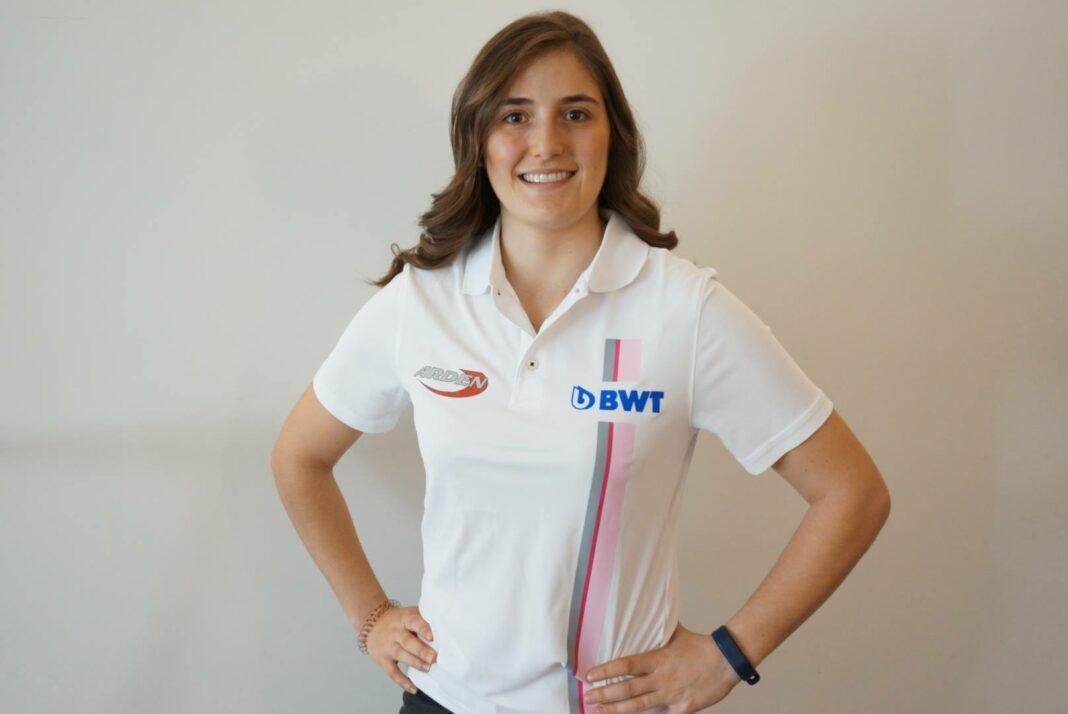 Tatiana Calderon formula 2 racinglinehu, racingline, racingline.hu