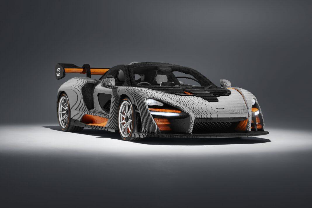 McLaren Senna LEGO racingline, racinglinehu, racingline.hu