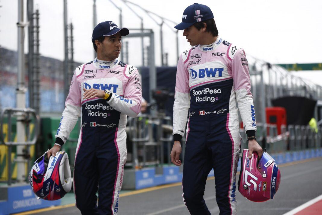 Sergio Perez, Lance Stroll racingline, racinglinehu, racingline.hu