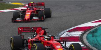 Vettel Leclerc, Ferrari, racingline.hu