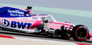 Perez, Racing Point, Bahrein