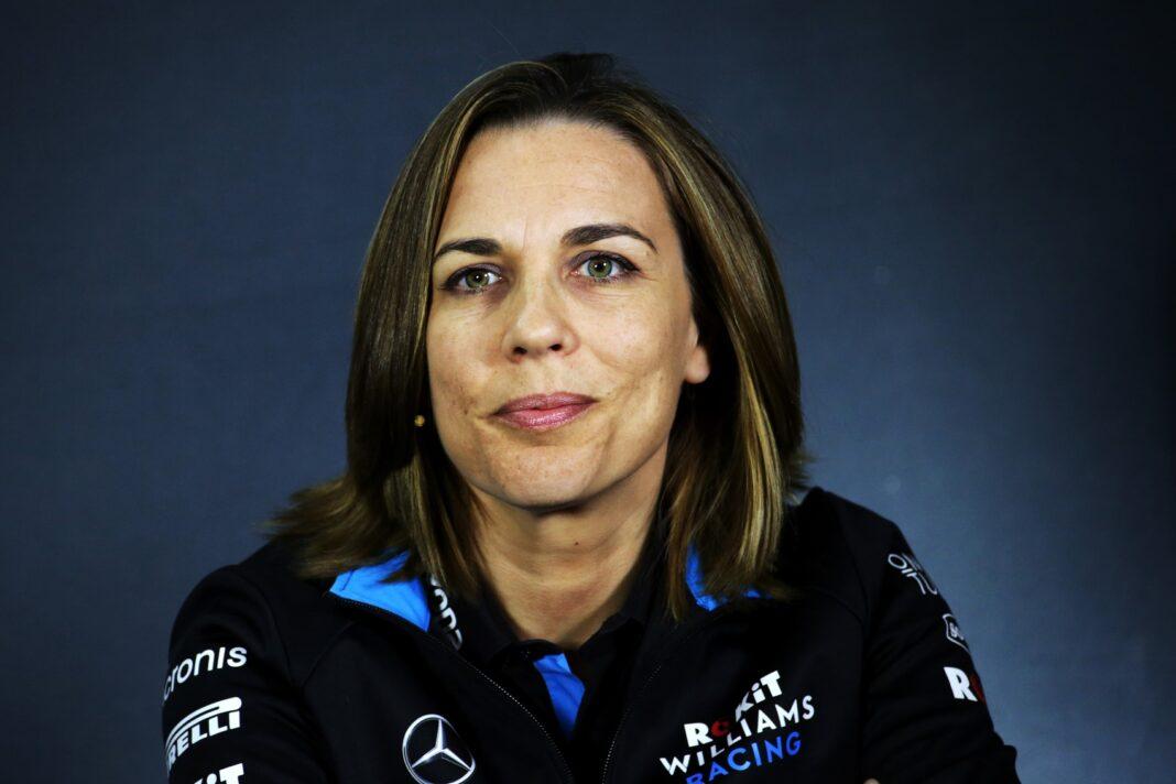 Claire Williams racingline, racingilnehu, racingline.hu