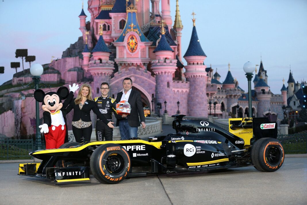 Disney Renault racingline, racinglinehu, racingline.hu