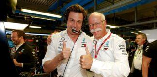 Toto Wolff, Dieter Zetsche, Mercedes, racingline, racinglinehu, racingline.hu