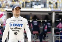 Sergio Perez racingline, racinglinehu, racingline.hu