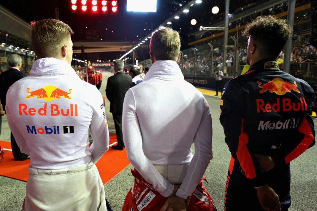 Max Verstappen, Sebastian Vettel, Daniel Ricciardo, racingline, racinglinehu, racingline.hu