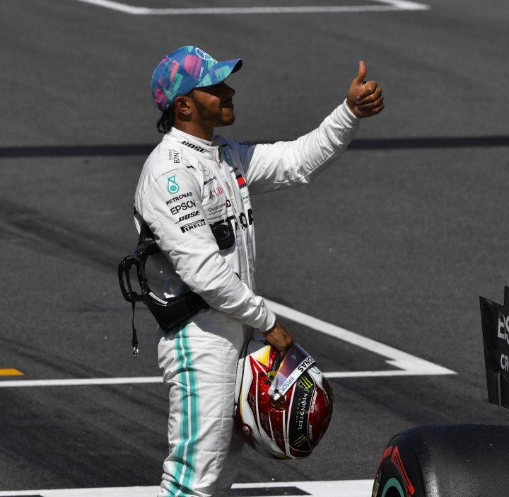 Hamilton, Racingline